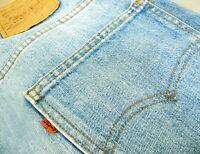 HOT VINTAGE USA 80's Men LEVI'S 517 #8 BOOTCUT ORANGE TAB Jeans 33x30 *Fit 31x30