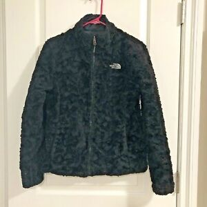 North Face Mossbud Swirl Insulated Reversible Quilted Jacket Coat Women's Small