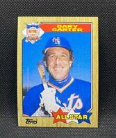 1987 Topps All-Star Gary Carter #602 - New York Mets - HOF - NM-MT+