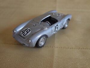 1950s Porsche Spyder  Grey James Dean  1/43 by  Brumm made in Italy