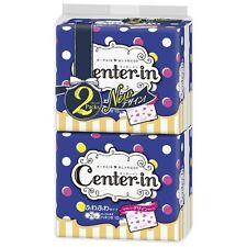 Unicharm CENTER IN Sanitary Slim Napkins for heavy night 10 pads x 2 from Japan