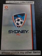 Sydney FC 2015 Season Soccer Trading Cards