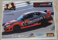2015 Compass360 Racing Subaru WRX STi GS IMSA CTSC thinstock postcard