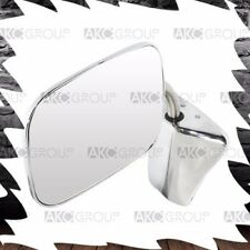 Performance Chrome Replacement Reversible Side Mirror For Universal GM Chevy Fit