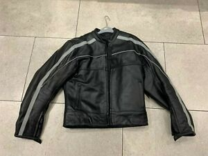 Motorcycle Leather Jacket - UK Size Large, Excellent used condition