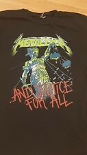 metallica justice for all shirt xl