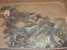 80 Antique Flat Barrel Keys Miller Corbin Eagle Keys Key For Locks Vintage
