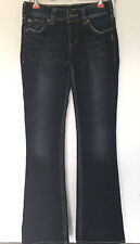 Silver Jeans Womens Juniors Size 25 x 32 Dark Blue Suki Bootcut Pants