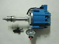 Distributor [Blue] fits Ford SB 289 302 Windsor 6000 Series 65K Coil HEI