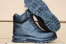 "NIB-Nike ACG Air Max Goadome 6"" WP Men's Blackout Waterproof Boots Sz 9.5"