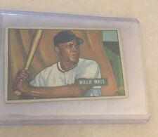 New listing 1951 Bowman Willie Mays Rookie Card,#305,New York Giants,ungraded
