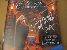 AUTOGRAPHED Trans-Siberian Orchestra Letters From the Labyrinth CD Paul O'Neill