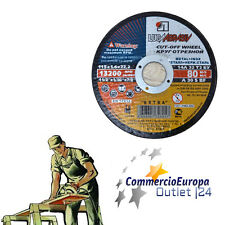 3 pz DISCO LAMA 115MM SMERIGLIATRIC METALLI CUTTER FLEX ACCIAIO, FERRO DA TAGLIO