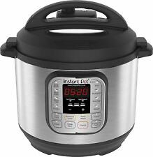 Instant Pot Duo V2 7-in-1 Electric Pressure Cooker, 6 Litre, 1000 W, UK Plug