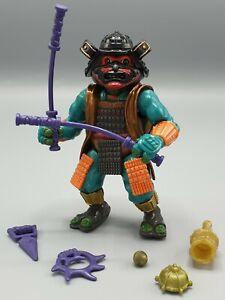 Vintage Michaelangelo Playmates TMNT Turtles 1993 Movie III Samurai Figure