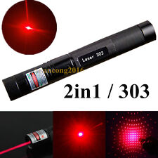 Military 303 Red 1mw 650nm Laser Pointer Pen Lazer Light Visible Beam Powerful