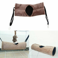 Tunnel Tube Hamster Hammock Swing Cage Rat Ferret Bed Excises Sleeping Nest Toys