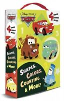 Shapes, Colors, Counting & More!, Hardcover by Disney Pixar (COR), Brand New,...