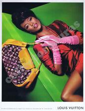 LOUIS VUITTON - Naomi Campbell advertisement A4 size HQ print