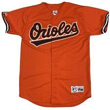 Majestic Baltimore Orioles Orange Jersey - Medium - Embroidered Stitched - MLB
