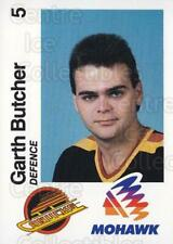 1988-89 Vancouver Canucks Mohawk #8 Garth Butcher