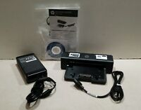 NEW HP 685339-002 // HSTNN-l11X Docking Station with Adapter, Cord, Manual & CD