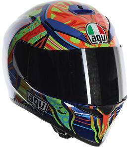 AGV K3 SV Rossi 5 Continents Helmet Size MEDIUM SMALL (MS)