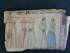 Bridal/Evening 1970s Women's Collectable Sewing Patterns