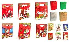12 x Christmas Gift Bags Gift Wrap Xmas Wrapping Gift Present Bags