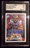 JIMMY GRAHAM 2012 TOPPS Magic Autographed Signed Card SGC Topps COA 154 Gem 10