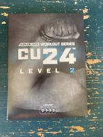 Advocare Workout Series CU24 Level 2 4 Disc DVD Set Fitness Exercise Program