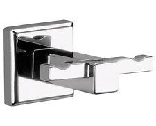 Accessori bagno appendino doppio porta accappatoio Colorado di gedy in cromall