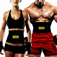 SWEAT BELT Slimming Strap Waist Fitness Neoprene Shapewear Men's Women's