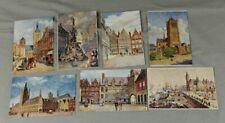 7 alte Postkarten - aus Serie Collection Nationale . Etab Tallon & Co , Brux