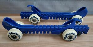 Rollergards Ice Skate Guards Wheels Roller Hockey Wheeled One Size Fits All BLUE