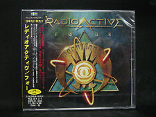 RADIOACTIVE Four + 1 JAPAN CD Kansas Fergie Frederiksen Toto Survivor Giuffria