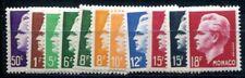 MONACO 1950 416-426 ** POSTFRISCH TADELLOS SATZ FÜRST RAINIER 60€(I1888