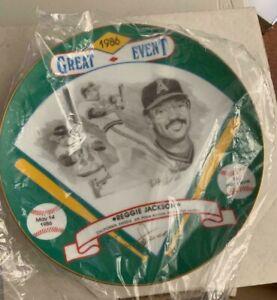 "1986 Reggie Jackson ""537 Home Run Signature Edition"" Plate #37"