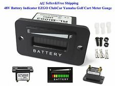 AU 48V Battery Indicator 48 Volt EZGO ClubCar Yamaha Golf Cart Meter Gauge New