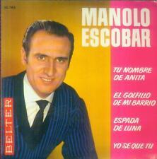 "7"" Manolo Escobar/Tu nombre de Anita (Spain-EP)"