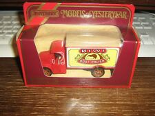 MATCHBOX MODELS OF YESTERYEAR COLLECTION - Y-30 1920 AC MACK VAN - FROM 1986