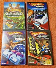 Hot Wheels DVD LOT 1-4 AcceleRacers Ignition, Speed of Silence, Breaking Point++