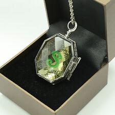 Fashion Jewelry cosplay Harry Potter Horcrux Locket Pendant Necklace