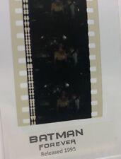 Batman Forever (1995) Movie Authentic Film 5-Cells Strip BRUCE WAYNE & ALBERT