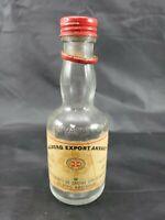 "Collectible Aalborg Export Akvavit 5.5"" Vintage Bottle"