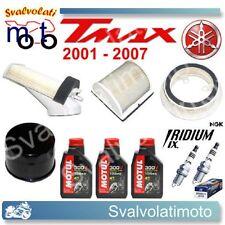 KIT TAGLIANDO TMAX 2004 3 LT 300V + FILTRI ARIA + FILTRO OLIO + CANDELE IRIDIUM