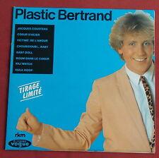 "PLASTIC BERTRAND 25 CM 10"" TIRAGE LIMITE ORIG LP FR"