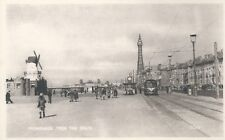 Postcard - Promenade from the South Blackpool Lancashire