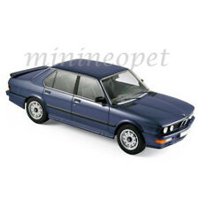 NOREV 183267 1987 87 BMW M 535i 1/18 DIECAST MODEL CAR BLUE METALLIC