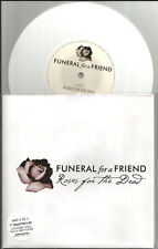 FUNERAL FOR A FRIEND Roses for Dead UK w/ POSTER WHITE 7 INCH VINYL USA Seller